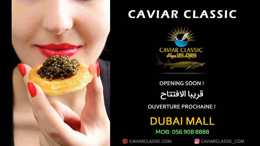 CaviarClassic Dubai Mall